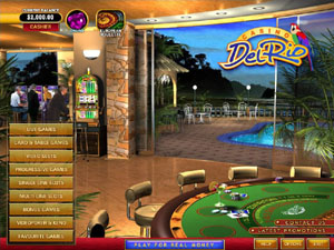 Screenshot of Casino Del Rio Lobby