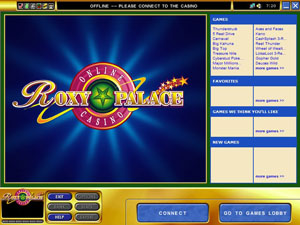 roxy palace online casino book of ra free games