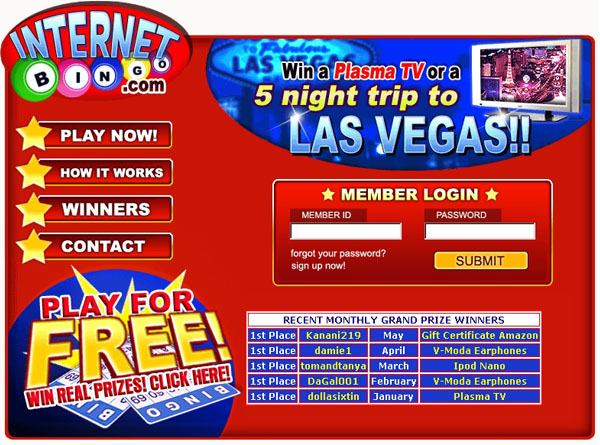 play free bingo on-line for free