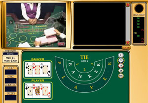 Play Live Baccarat at Golden Palace!
