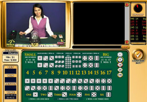 Play Live Dealer Sicbo at Golden Palace Now!