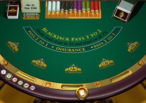 Download and Play Golden Palace Blackjack Now!