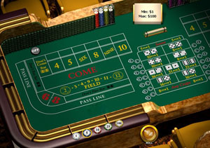 Players may wager money against each other (street craps) in some versions of the game or a against the bank (casino craps